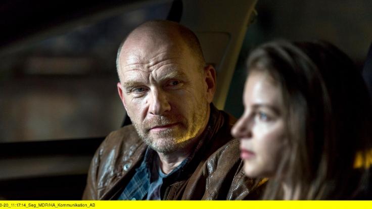 Die erste Begegnung zwischen Viola Delbrück (Yvonne Catterfeld) und Burkhard Schulz (Götz Schubert) fällt gar nicht gut aus. (Foto)