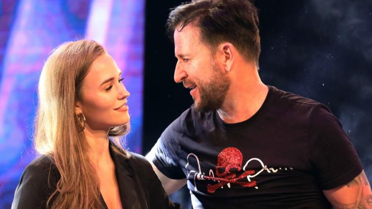 Influencerin Laura Müller und Ehemann Michael Wendler (Foto)