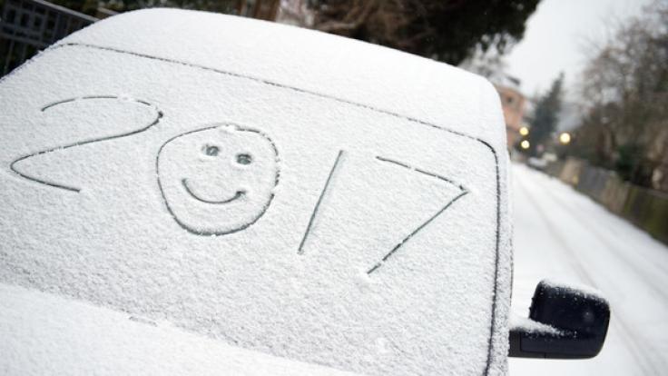 Wie lange bleibt der Schnee in Deutschland? (Foto)