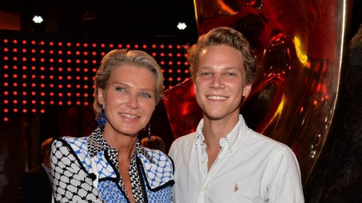 Stephanie von Pfuel verlor ihren Sohn Karl Bagusat durch einen tragischen Unfall. (Foto)