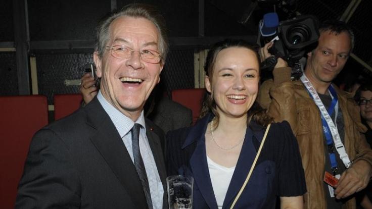 Sorgen mit ihrer Hochzeit für Aufsehen: Franz Müntefering und Michelle Schumann (Foto)