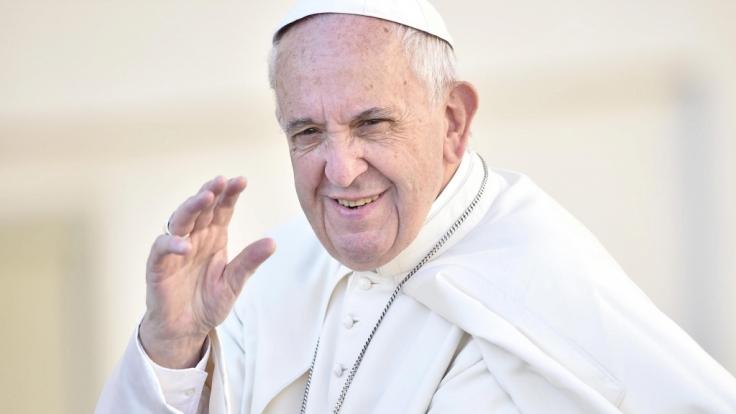 Papst Franziskus hat eine Entscheidung zu fällen. (Foto)