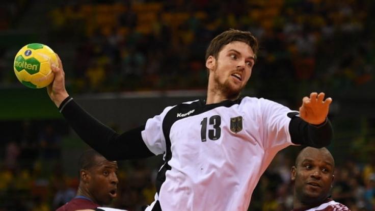 Der deutsche Handballer Hendrik Pekeler darf bei der Handball-WM 2017 in Frankreich mitmischen. (Foto)