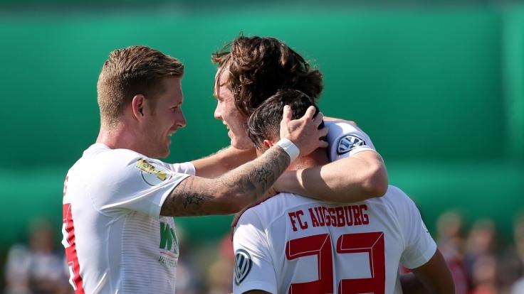 Heimspiel FC Augsburg: Die aktuellen Spielergebnisse der 1. Fußball-Bundesliga bei news.de. (Foto)
