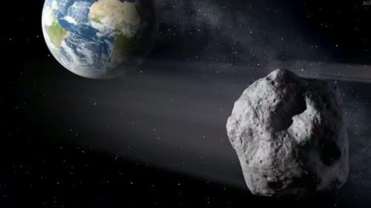 """Asteroiden (griech. """"sternähnlich"""") sind ständige Begleiter in unserem Sonnensystem. Zwischen Mars und Jupiter befindet sich der Asteroidengürtel, in dem einige Forscher die Überreste eines Planeten sehen. (Foto)"""