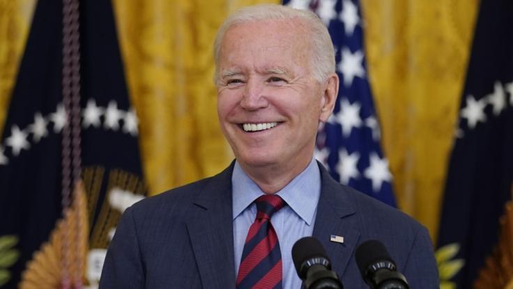 Joe Biden musste erneut Demenzvorwürfe ertragen - diesmal aus Richtung der Familie Trump. (Foto)