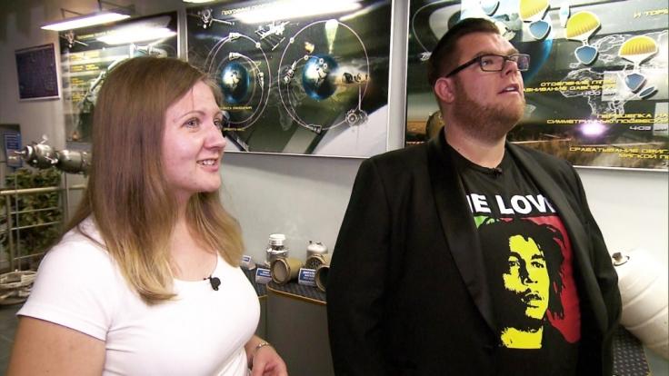Dennis aus Köln hat in Rostow ein Blinddate mit Tatjana im Raumfahrtmuseum. (Foto)