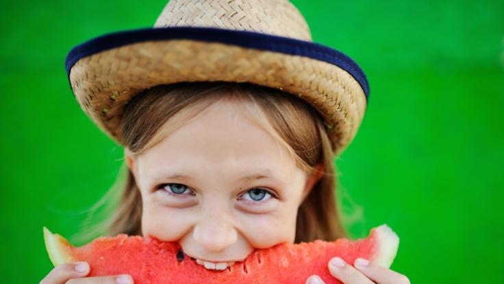 Wassermelonenkerne sind gesund.