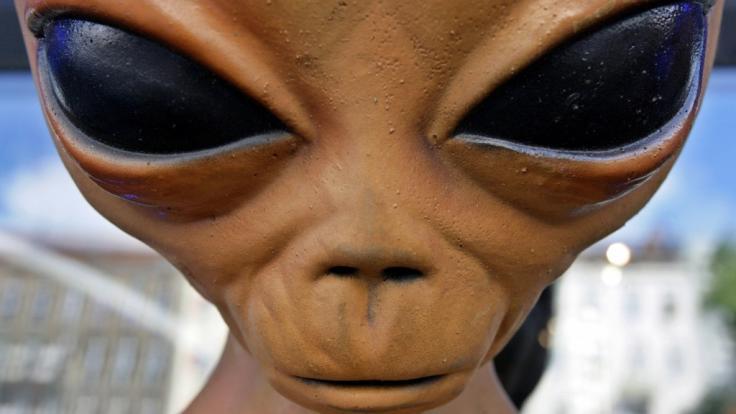 Ein Experte behauptet, dass Aliens seit Jahren mit der US-Regierung in Kontakt stehen. (Foto)