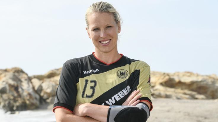 Nadine Krause warWelthandballerin 2006. (Foto)