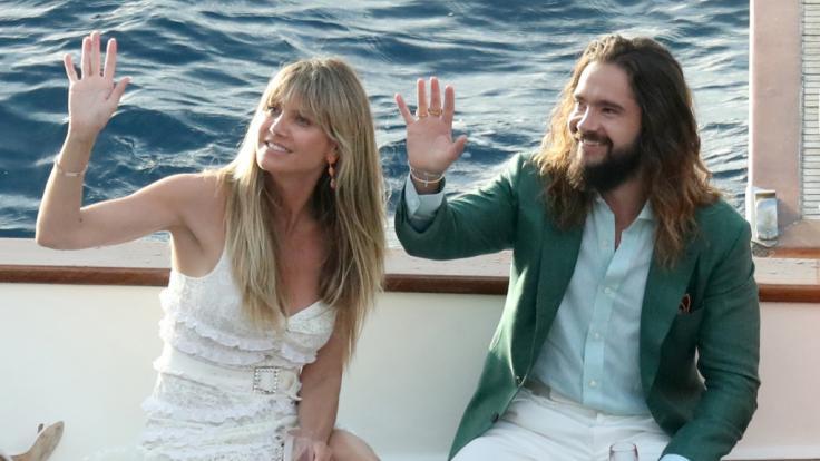 Heidi Klum genießt ihre Zeit in Italien.