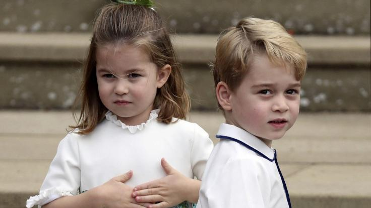 Prinz George und seine Schwester Prinzessin Charlotte sind gemeinsam mit ihrem Baby-Bruder Prinz Louis der ganze Stolz von Herzogin Kate und Prinz William. (Foto)