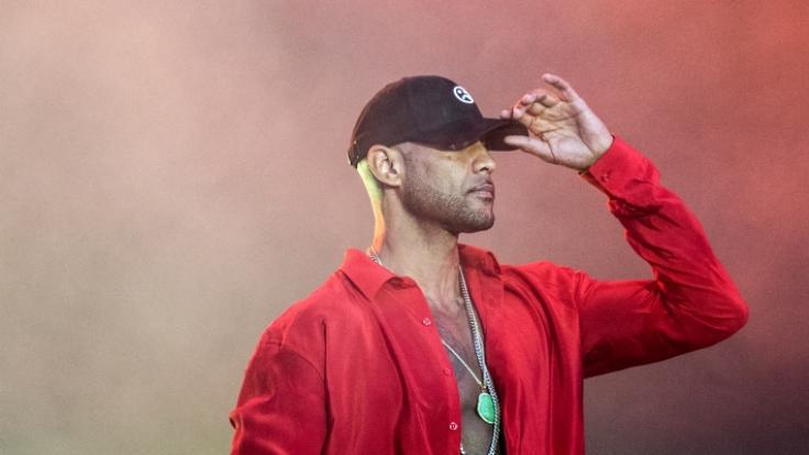 Bei Dreharbeiten zu einem Videoclip des französischen Rappers Booba haben Bewaffnete das Feuer eröffnet. (Foto)