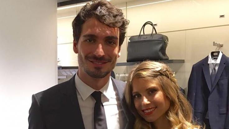 Mats Hummels und Cathy sind seit 2015 verheiratet.