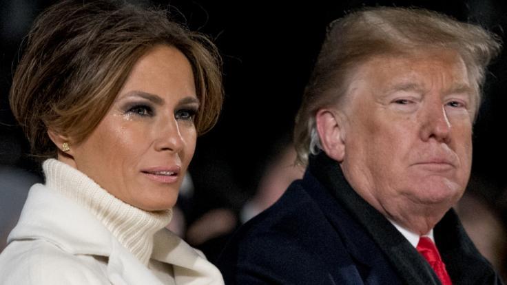 Melania Trump sorgt sich um die Gesundheit von Donald Trump.