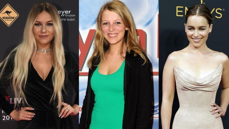 Dagi Bee, Iris Mareike Steen und Emilia Clarke waren diese Woche hüllenlos zu bewundern. (Foto)