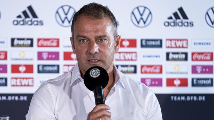 Wie schlägt sich die DFB-Elf vom neuen Bundestrainer Hansi Flick bei den Länderspielen zur WM-Qualifikation? (Foto)