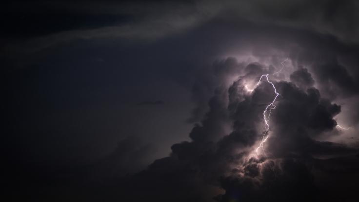 Wetterdienst warnt vor weiteren Unwettern über Deutschland. (Foto)