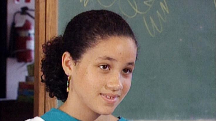Kaum wiederzuerkennen: Meghan Markle in jungen Jahren. (Foto)