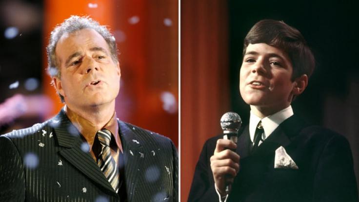 Heintje jetzt und während seines TV-Auftritts im Jahr 1967. (Foto)