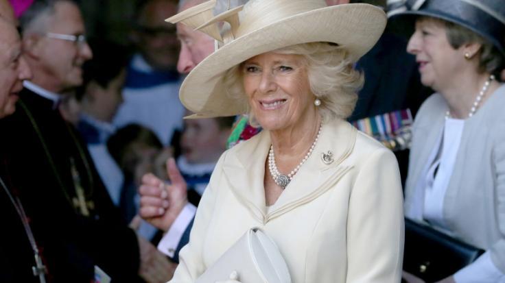 Herzogin Camilla entging offenbar knapp einem Unglück. (Foto)