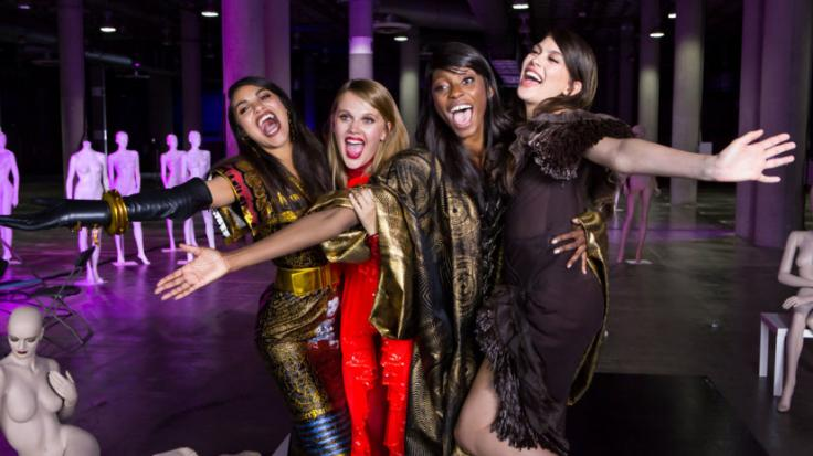 "Julianna, Pia, Toni und Christina stehen im Finale von ""Germany's Next Topmodel"" 2018. (Foto)"