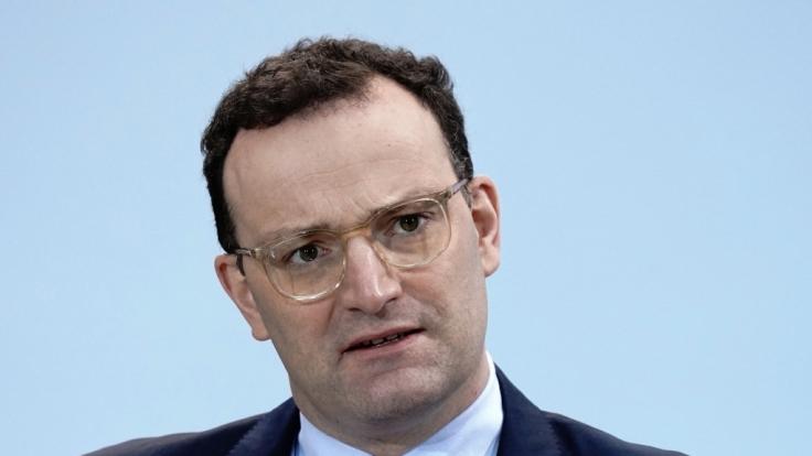 Bundesgesundheitsminister Jens Spahn fordert eine Lockdown-Verlängerung über den 31. März hinaus. (Foto)