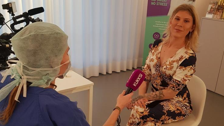 Arielle Rippegather im Interview mit KUKKSI (Foto)