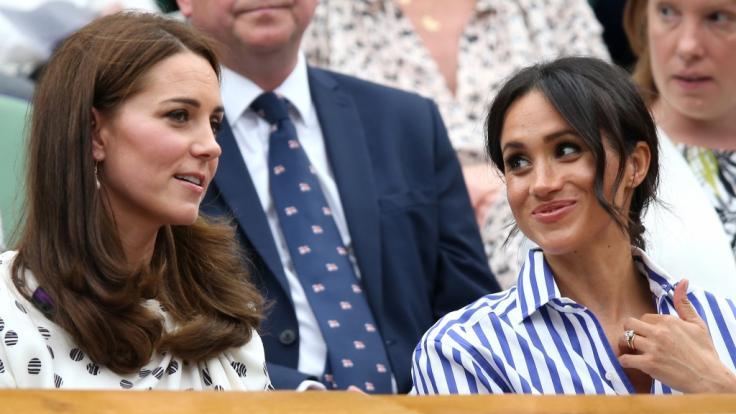 Ist das Verhältnis zwischen Kate Middleton und ihrer Schwägerin Meghan Markle wirklich so freundschaftlich, wie es das Duo bei öffentlichen Auftritten vermittelt?