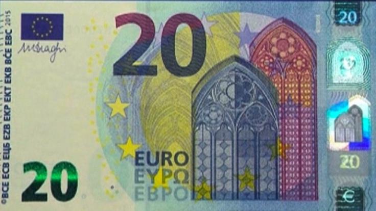So sieht der neue 20-Euro-Schein aus.