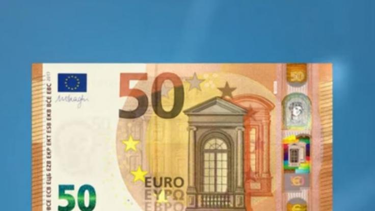 Das ist der neue 50-Euro-Schein.