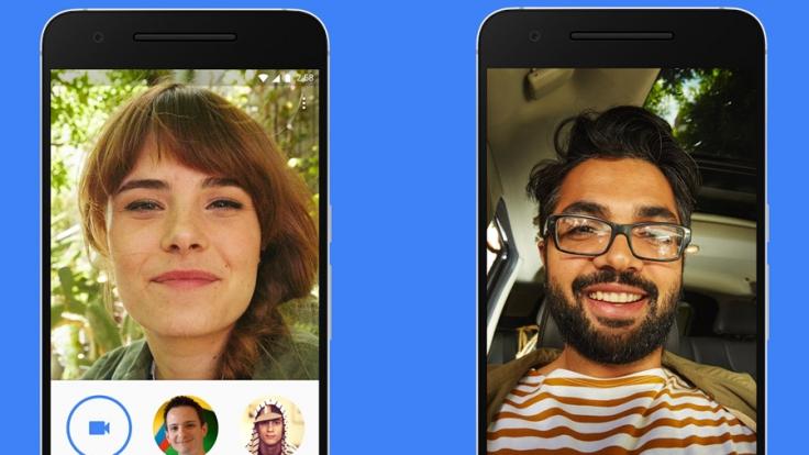 Google Duo soll kinderleichte Videochats ermöglichen.