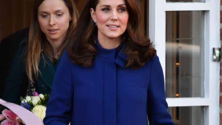 Kate Middleton erwartet im Frühjahr 2018 erneut Nachwuchs - der Babybauch ist schon jetzt nicht zu übersehen.
