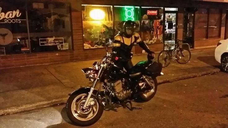 In diesem Outfit patroulliert Phoenix Jones durch die Straßen Seattles.
