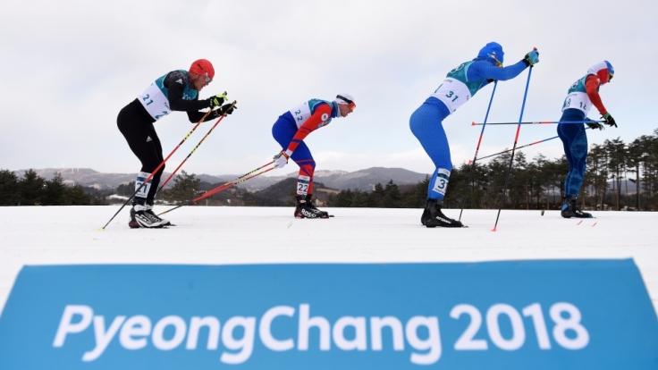 Der Klassiker des Wintersports: Die Langlauf-Wettbewerbe bei Olympia 2018. (Foto)