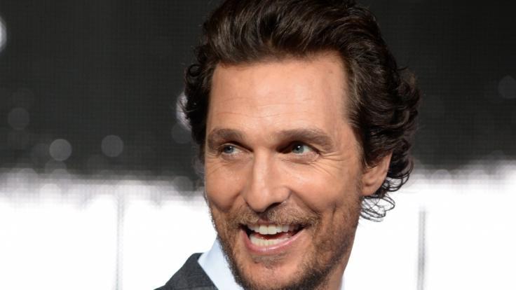 Neue Biografie: Matthew McConaugheys Vater starb, als er mit seiner Frau schlief. (Foto)