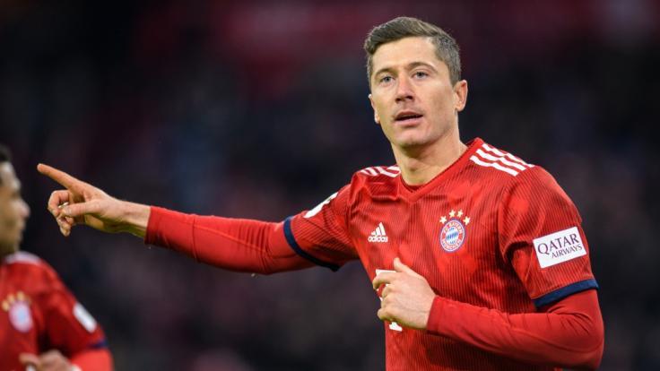 Robert Lewandowski steht mit dem FC Bayern München im Viertelfinale des DFB-Pokals.
