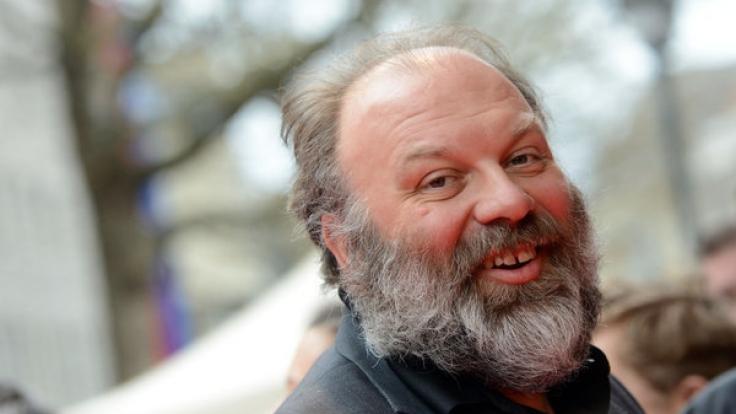 Schauspieler Waldemar Kobus hier mal mit Bart. (Foto)