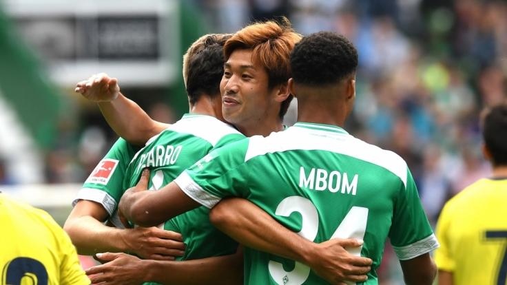 Heimspiel SV Werder Bremen: Die aktuellen Spielergebnisse der 1. Fußball-Bundesliga bei news.de. (Foto)