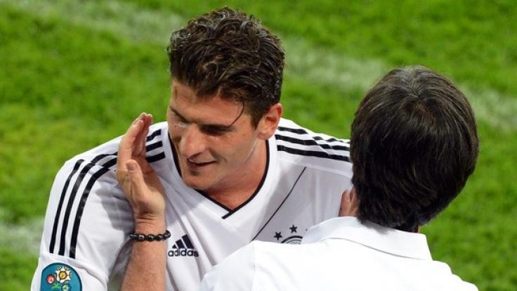 Muss Mario Gomez bei der WM 2018 zu Hause bleiben? (Foto)