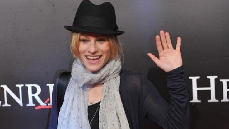 Dorkas Kiefer bei der Premiere des Kinofilms