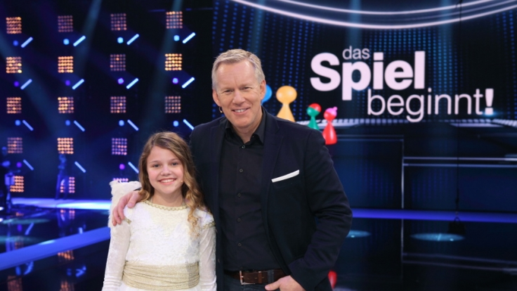 "Seit kurzem ist Faya Co-Moderatorin in Johannes B. Kerners ZDF-Sendung ""Das Spiel beginnt"". (Foto)"