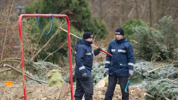 Die Ermittler fanden die Körperteile des Wojciech S. im Umfeld des Foltergebäudes.