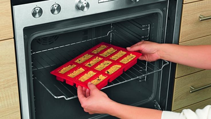 ...und ab damit in den Ofen. (Foto)