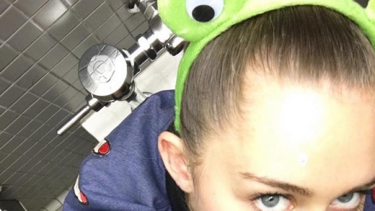 Für die Provokation mit ihren Selfies war Miley Cyrus schon immer bekannt. (Foto)
