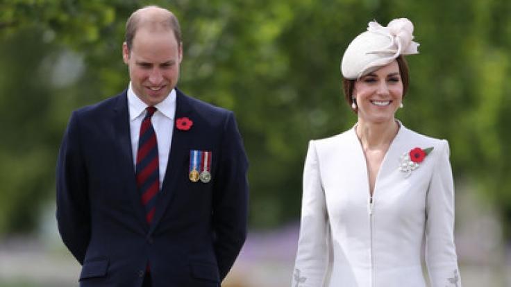 Herzogin Kate und Prinz William können sich freuen: Sie erwarten ihr drittes Kind. (Foto)