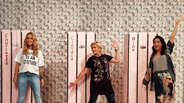 """Charlotte Würdig, Claudia Effenberg und Nina Moghaddam liefern sich einen Wettstreit um den Sieg bei """"Promi Shopping Queen"""". (Foto)"""