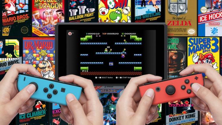 Nintendo Switch Online gibt's für Amazon Prime und Twitch-Nutzer bis zu zwölf Monate gratis. (Foto)