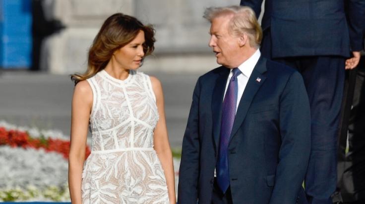 Happy Birthday, Melania Trump! Die First Lady wird 50 Jahre alt.
