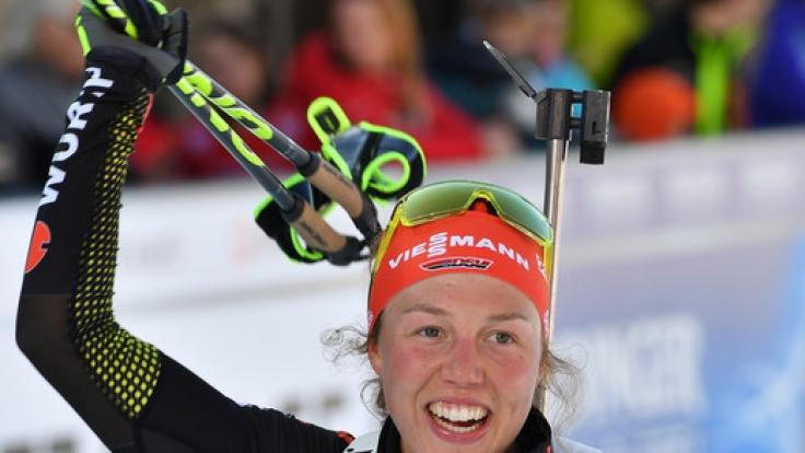 Die deutsche Biathletin Laura Dahlmeier rechnet sich für den Massenstart beim Biathlon Weltcup 2017 in Oslo gute Chancen aus.